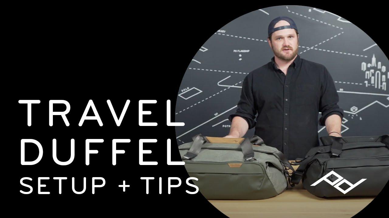 Download Peak Design Travel Duffel 35L: Setup & Tips