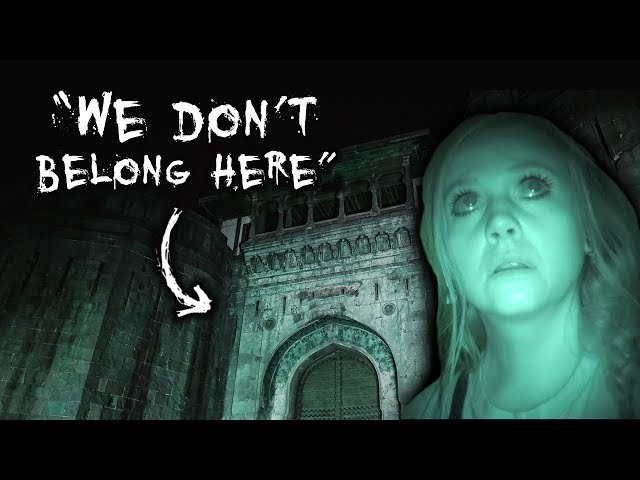 We Did NOT Belong There! | HAUNTED Murder Fort at NIGHT | Paranormal Investigation
