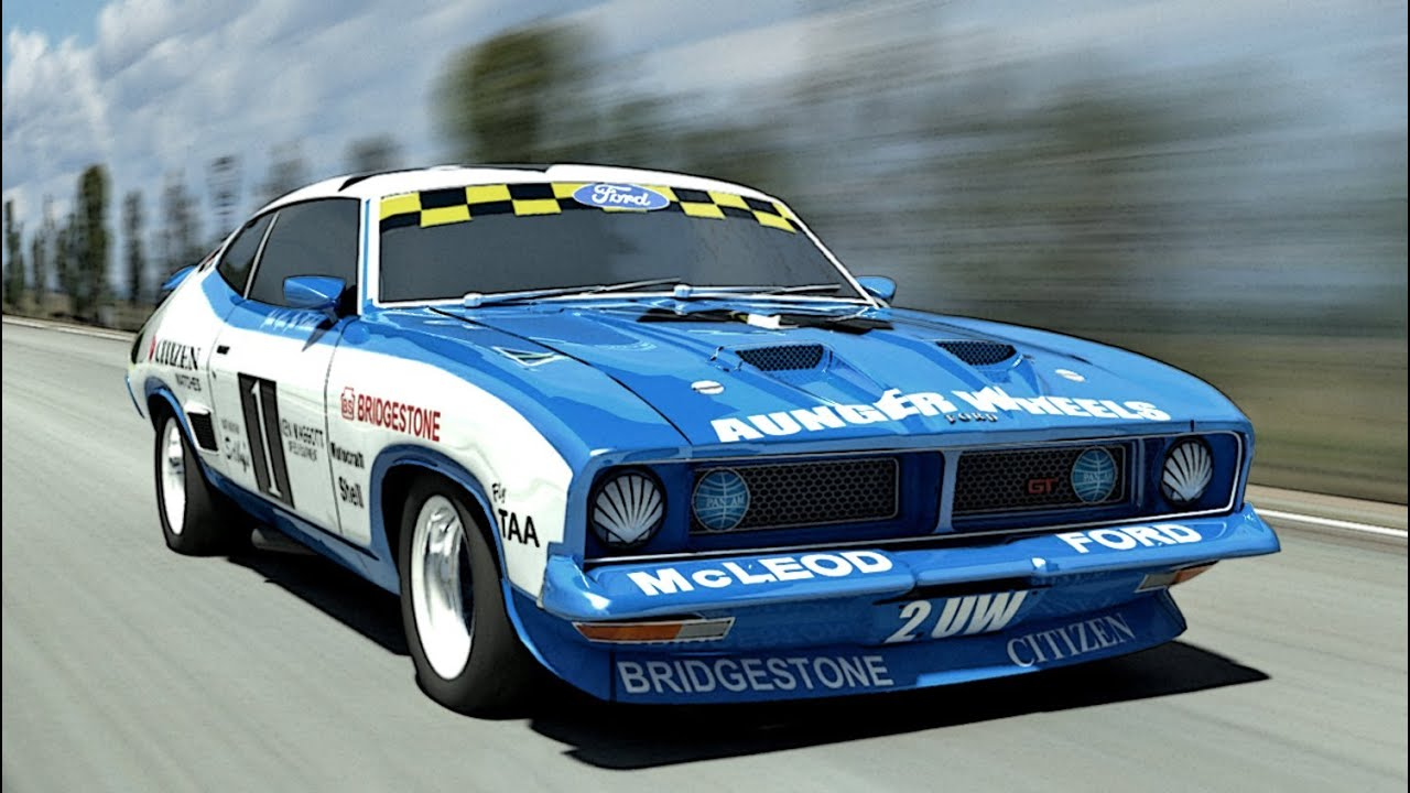 Ford Falcon Race Cars