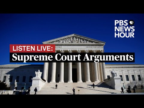 LISTEN LIVE: Supreme Court hears arguments by phone – May 12, 2020