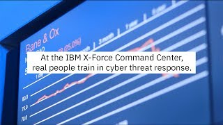Train for threat response at the IBM X-Force Command Center cyber range