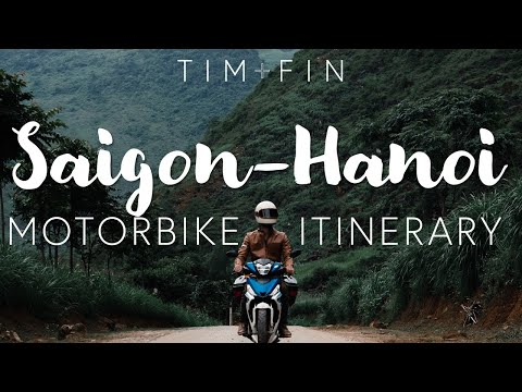 ULTIMATE VIETNAM ITINERARY | How to Motorcycle Vietnam: Ho Chi Minh to Hanoi! All cities discussed!