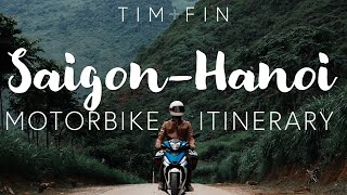 SAIGON TO HANOI MOTORBIKE ULTIMATE ITINERARY