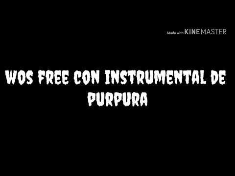 Free de wos con instrumental de púrpura
