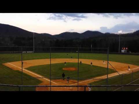 Tanner Revis Enka High Dirtbags Baseball