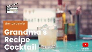 Grandma's Recipe  | Twist on a Penicillin | The BarTrender Tube