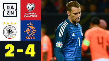 DFB-Elf verliert Topspiel und Tabellenführung: Deutschland - Niederlande 2:4 | EM-Quali | DAZN