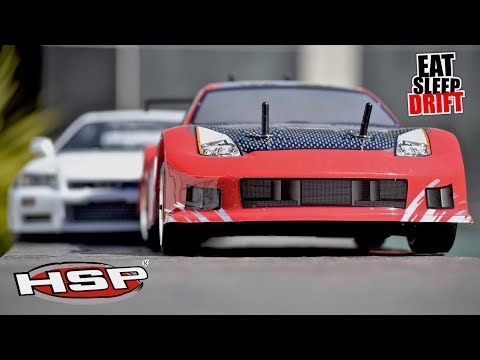 HSP Drift Cars, Flying Fish Test.... Best Cheap Beginner Drifter