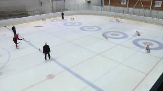 2012 Winter Youth Olympic Games - Ice Hockey Skills Challenge #5: Passing Precision