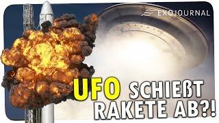 UFO schießt Rakete ab?! | ExoJournal
