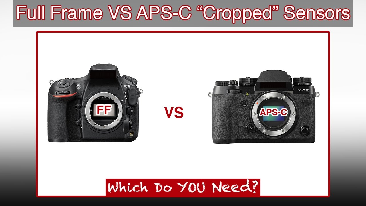 Fuji X-T2 & D810 | Full Frame vs APS-C Crop Sensor | VIEWER REQUEST ...