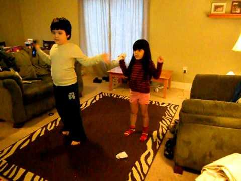 just dance kids doing the callypso!
