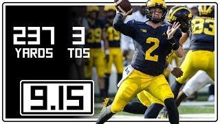 Shea Patterson Full Highlights Michigan vs SMU || 9.15.18 || 237 Yards, 3 TDs
