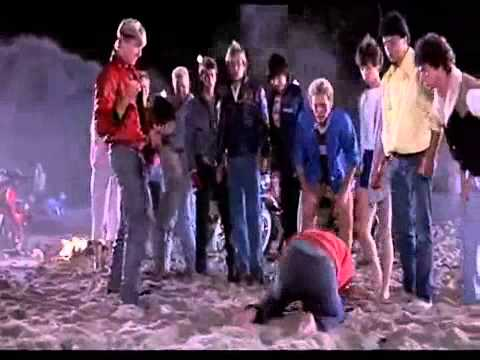 karate kid daniel larusso vs john lawrence beach fight youtube - The Karate Kid Halloween Fight