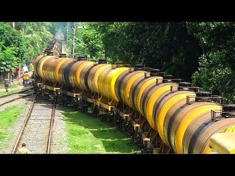 Farnish Oil Tanker Freight Train (Faridpur / Amirabad to Khulna) of Bangladesh Railway