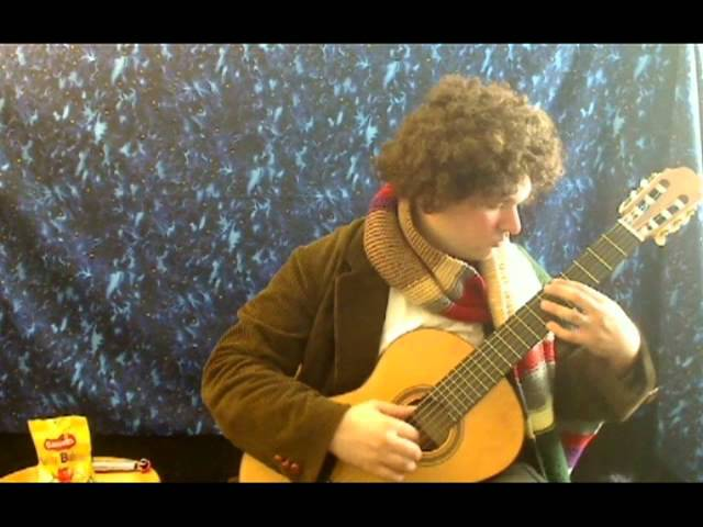 Doctor Who Theme On Classical Guitar Mightymega