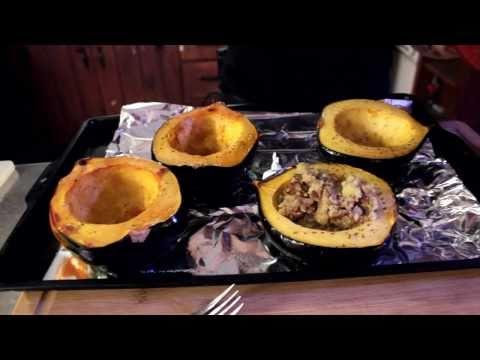 Stuffed Acorn Squash Recipe   The Vegan Zombie