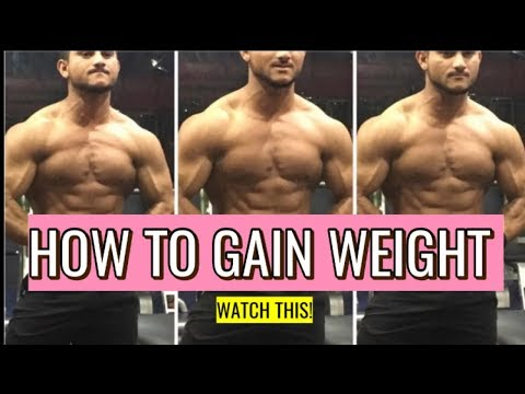 How To Gain Weight  Fast In Hindi | Vegetarian Full Day  Diet Plan For Weight Gain