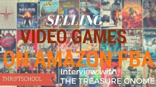 Selling Video Games on Amazon FBA, Merch by Amazon, Sales Report and More!