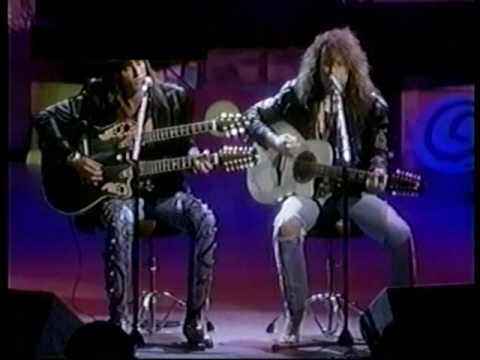 Bon Jovi - Living on a prayer / Wanted dead or alive (acoustic / live) - 06-09-1989