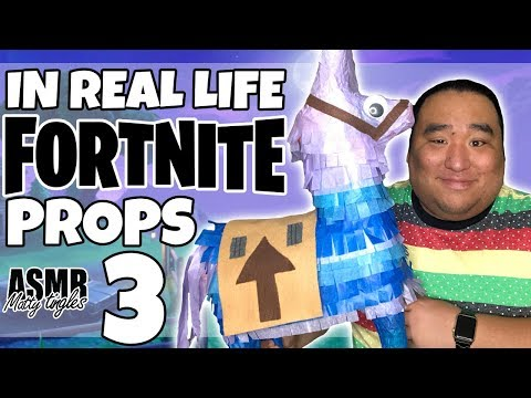 [ASMR] IN REAL LIFE - FORTNITE PROPS 3 | MattyTingles