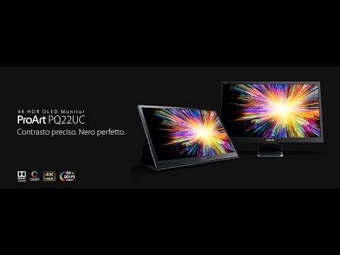 ASUS PQ22UC | Primo Monitor portatile al mondo OLED 4K HDR