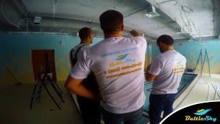 Натяжной потолок бассейн, Baltic sky. Санкт-Петербург.(, 2016-03-14T15:30:16.000Z)