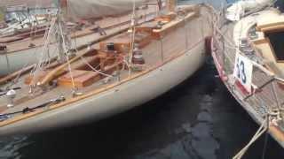 33 beautiful classic yachts at Les Voiles de St Tropez
