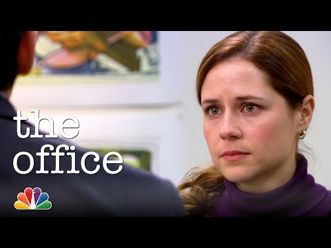 Michael Brings Pam to Tears at Her Art Show - The Office