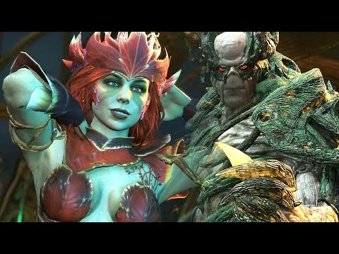 INJUSTICE 2 - Poison Ivy vs The Swamp Thing Gameplay (HD 60fps)