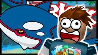 KYOGRE LEGENDARY SPAWNS!?! | Pokémon Brick bronze | Roblox | EP 8