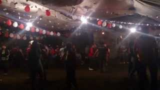 El Polvorete, Baile con Banda de Viento, en Tlacolula, Hgo.