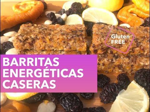 BARRITAS ENERGÉTICAS CASERAS | Nutrición con Marta Verona