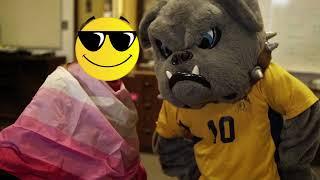 Charlie the Bulldog Visits the GSA