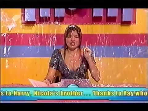 Holly Willoughby gets soaked