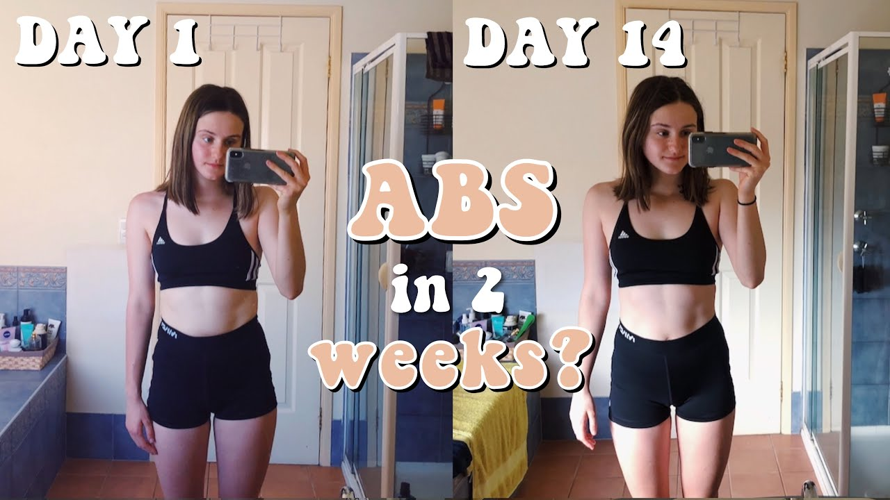 abs in 2 weeks? trying Chloe Tings workout program *honest ...