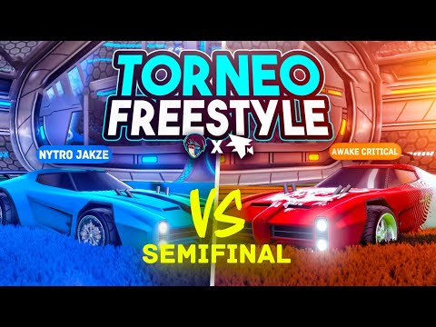 SEMIFINAL JAKZE VS CRITICAL 🚀 TORNEO DE FREESTYLE 1vs1 FLAMEC x DUALVIEW | ROCKET LEAGUE