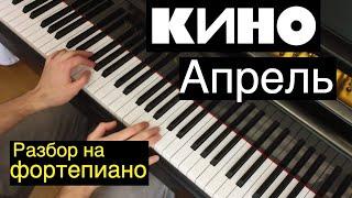 """Евгений, как сыграть...? / Кино - """"Апрель"""" (Урок 9)"""