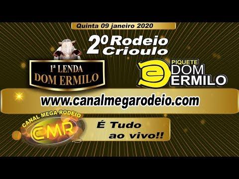 1ª Lenda e 2º Rodeio Piquete Dom Ermilo -  quinta 08 janeiro 2020 - Lajeado-RS