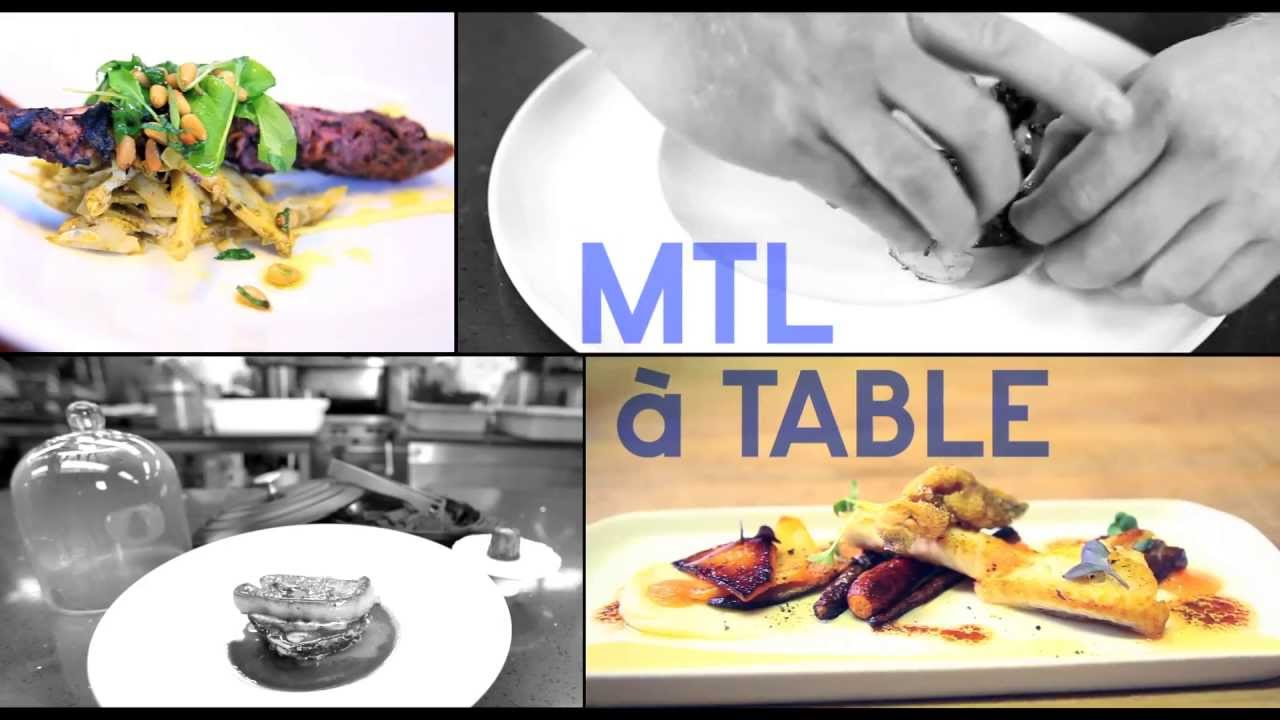 mtl a table 2013 montr al restaurant week youtube