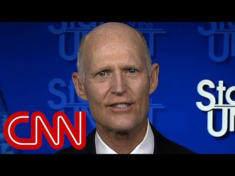 Scott on Trump tweet: Maybe trying to make everybody crazy