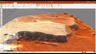 o-pitblast, blast-design erstellen einer Rampe
