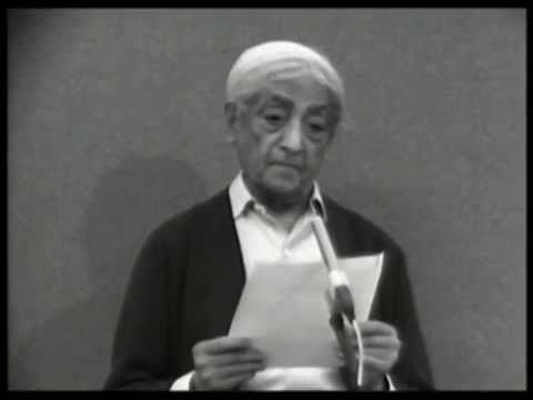 Can a minority of integrated people outweigh the majority? | J. Krishnamurti