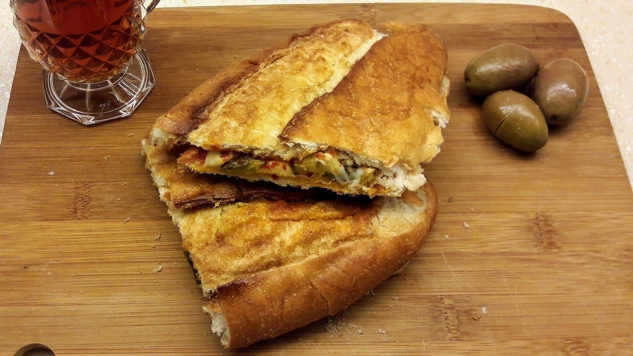 Püf noktaları ile çıtır çıtır kaşarlı Sucuklu Tost Tarifi - Ev Lezzetleri -  Kahvaltılık tarifler - YouTube