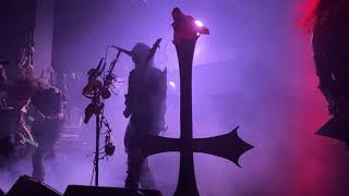 Watain Live - On Horns Impaled 4K 60 FPS