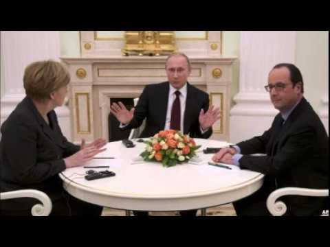 German, French, Russian Leaders Conclude Crisis Talks on Ukraine