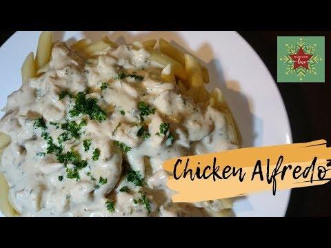 Chicken Alfredo Penne Pasta 2019 L Easy White Sauce Pasta L Ber Months Season 2019 L Marie Love Food
