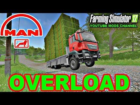 Farming Simulator 17 Man Tgs AgroTruck