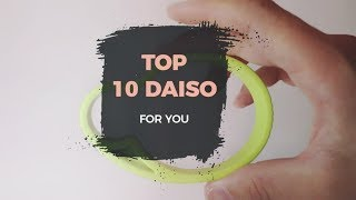 TOP 10 THINGS TO BUY AT JAPANESE DOLLAR STORE - DAISO l JAPAN SHOPPING GUIDE