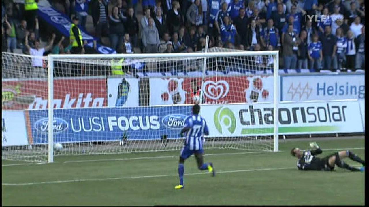 Schalke-HJK, Teemu Pukki 1-1 YLE HD